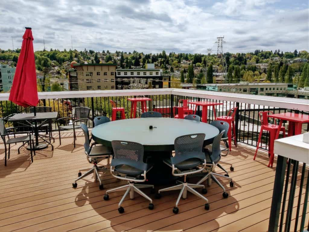 rooftop deck event space seattle rental