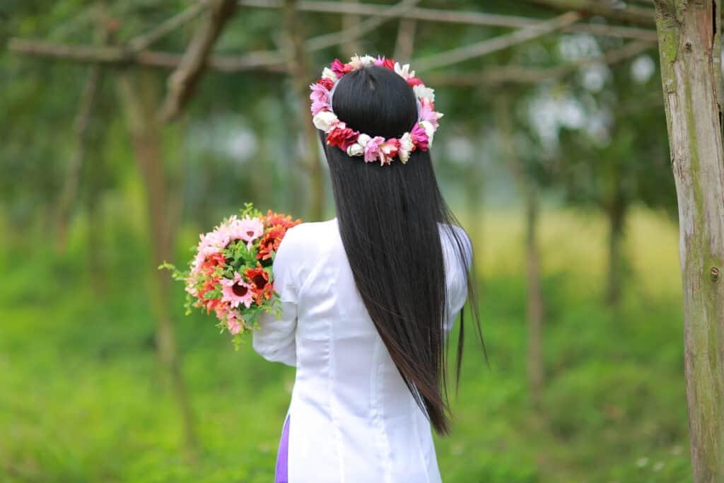 flower crown leis, moana