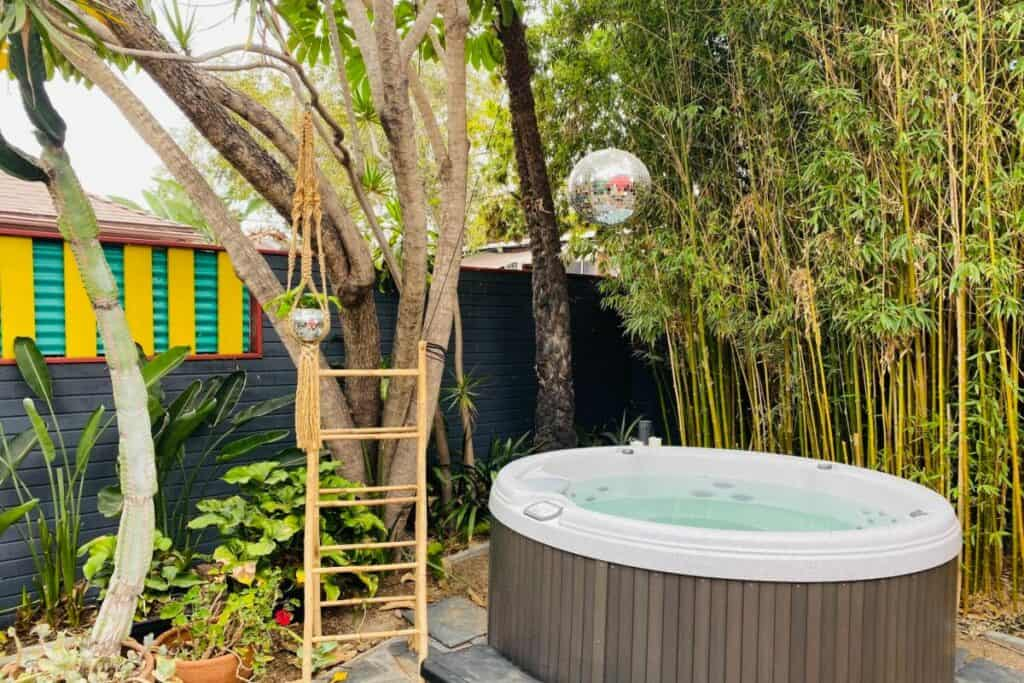 eclectic home with quirky backyard
