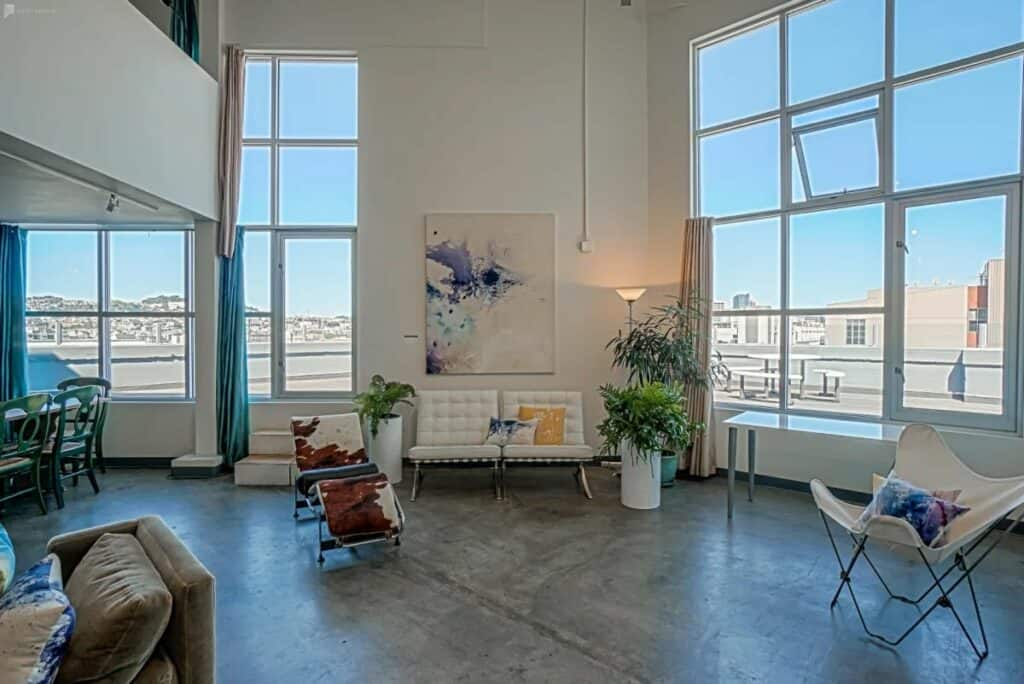 artist retreat loft