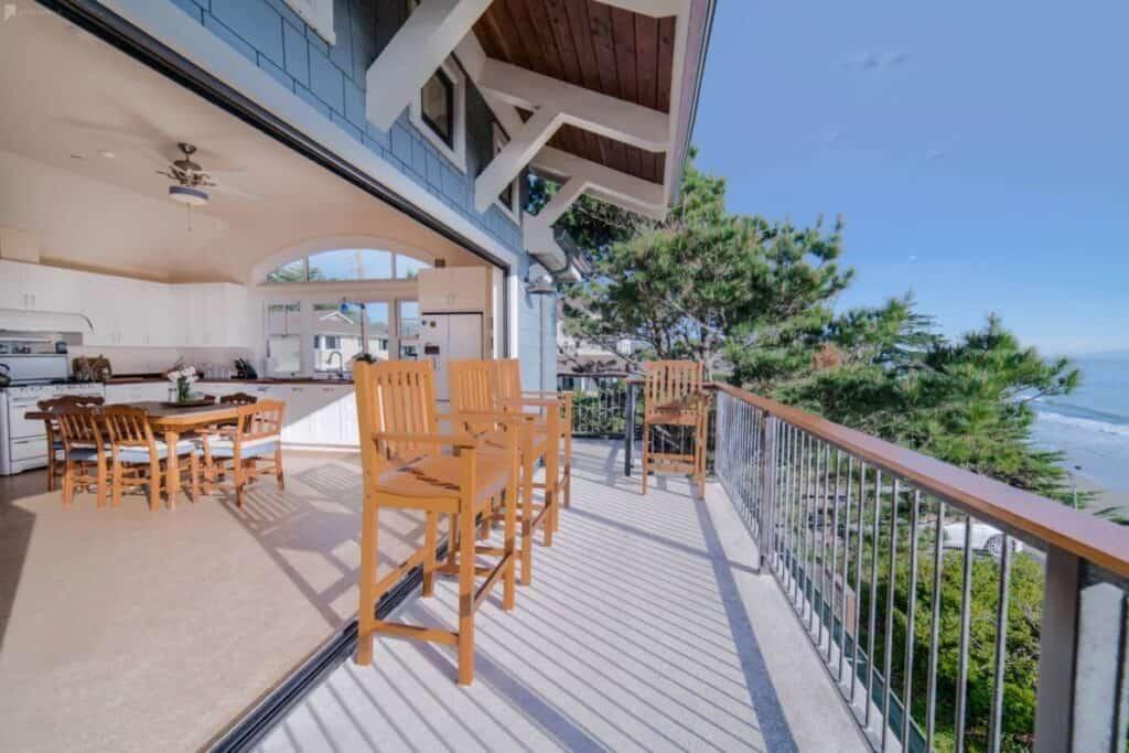 pine tree beach house