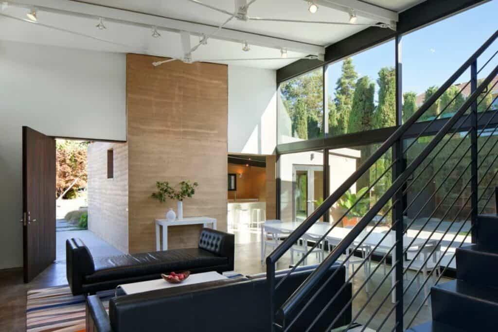 cool modern home in san jose