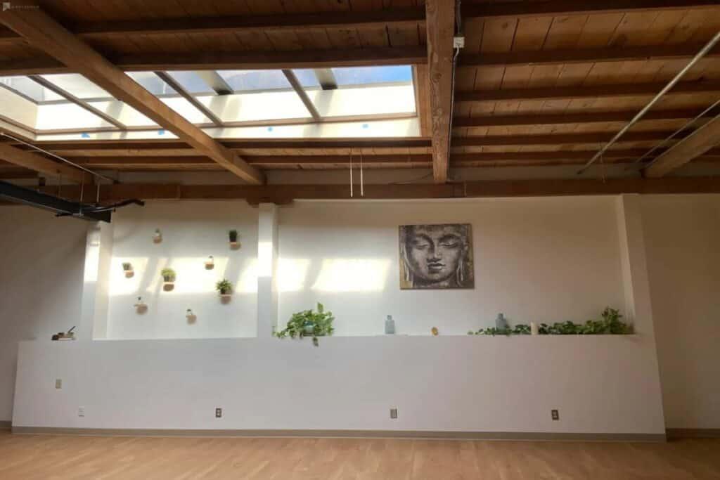 bright yoga studio