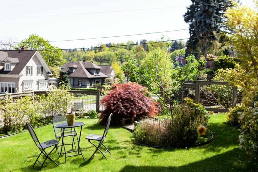 home with spacious backyard