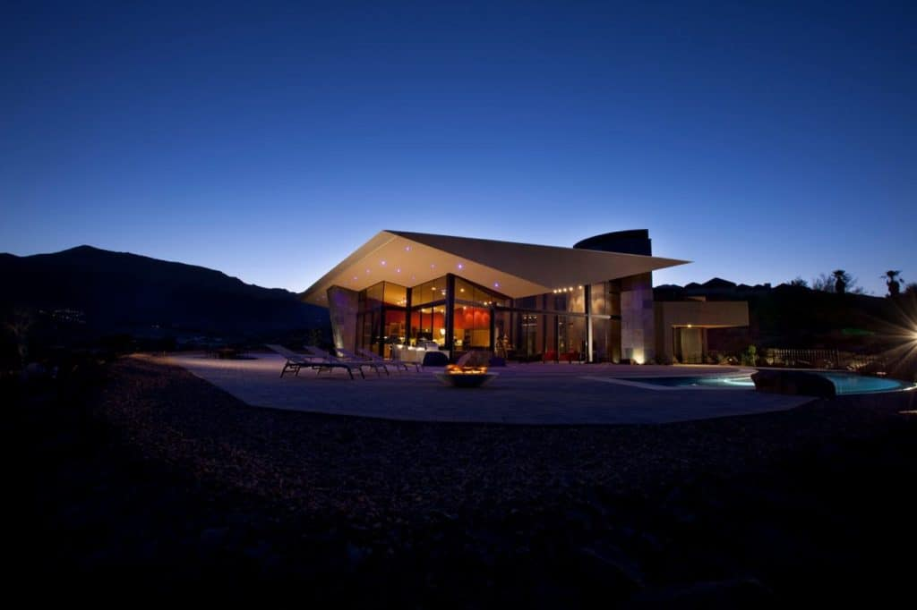 secluded ultra contemporary architecture palm desert los angeles rental