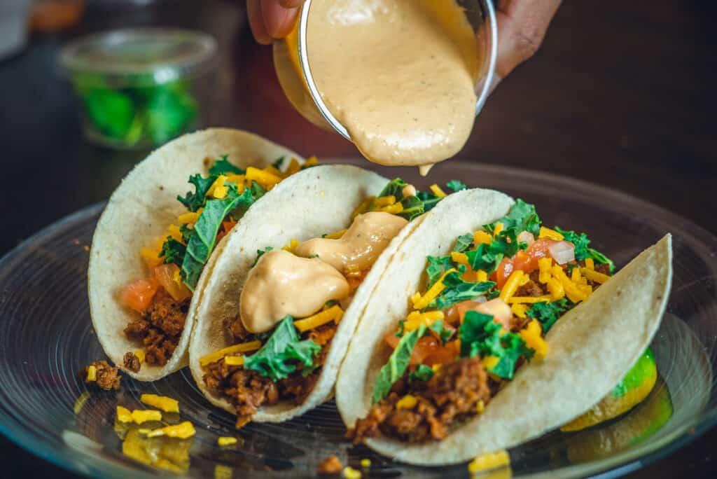 happy hour food tacos