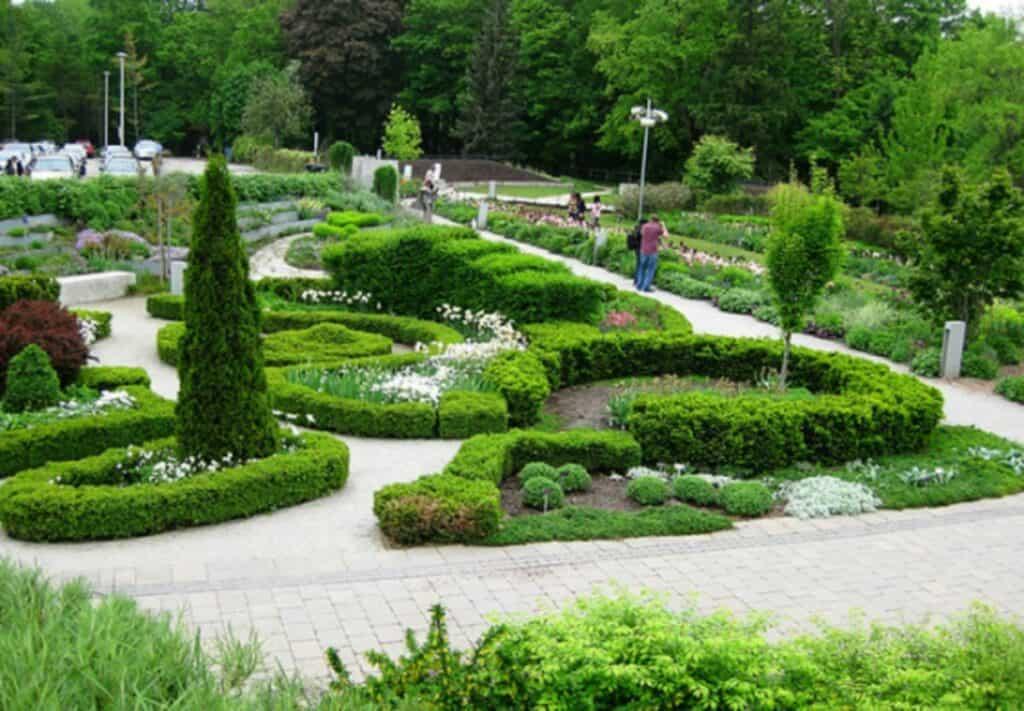 toronto botanical gardens promenade