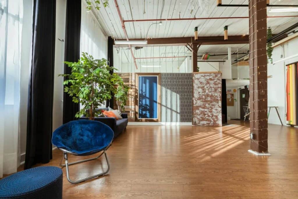 vibrant and airy toronto loft