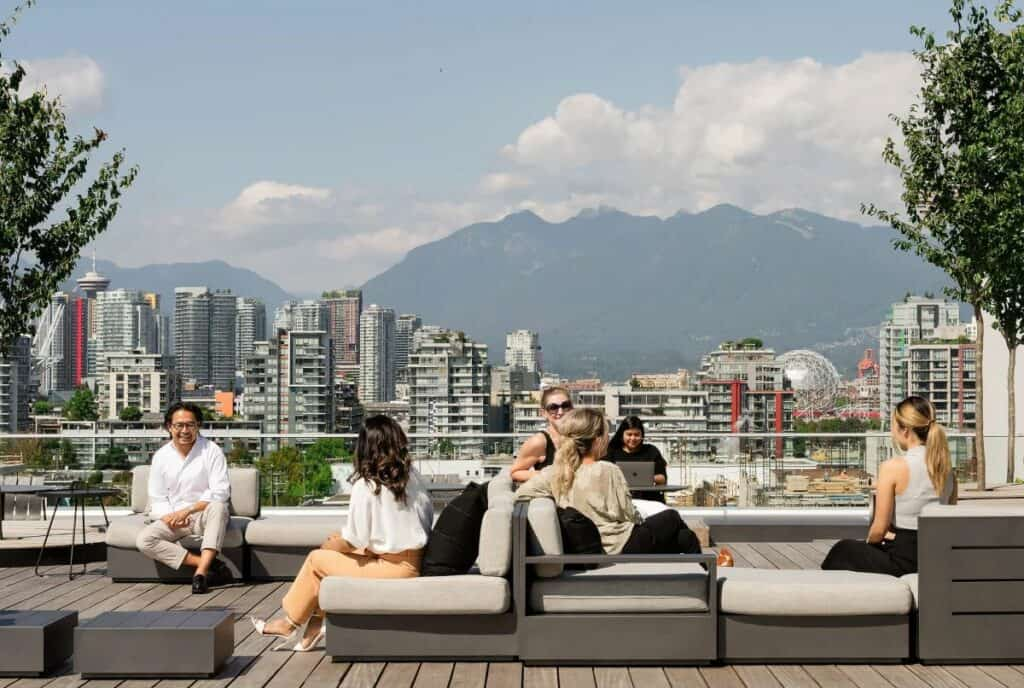 penthouse patio in vancouver