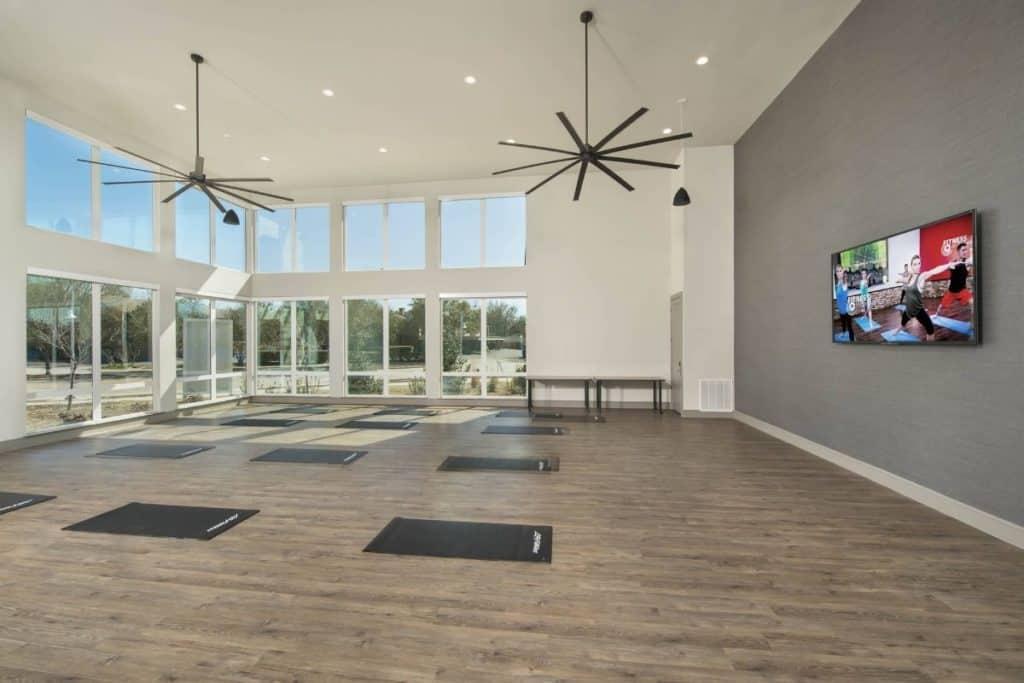 yoga studio dallas rental